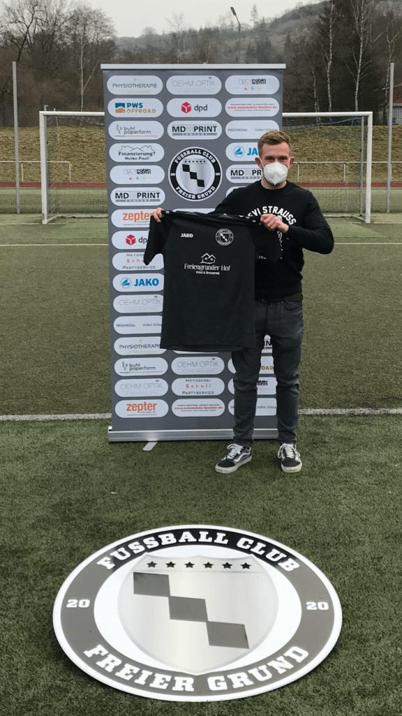 Neuzugang der 2.Mannschaft:  Maximilian Schnell